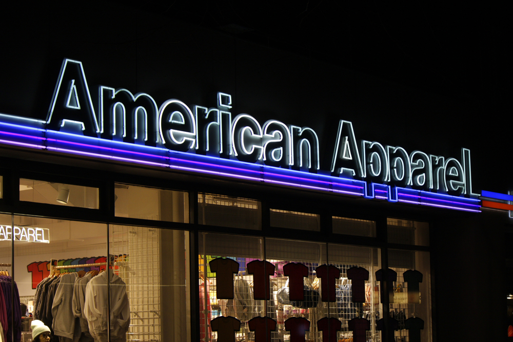 The very first American Apparel is officially closing