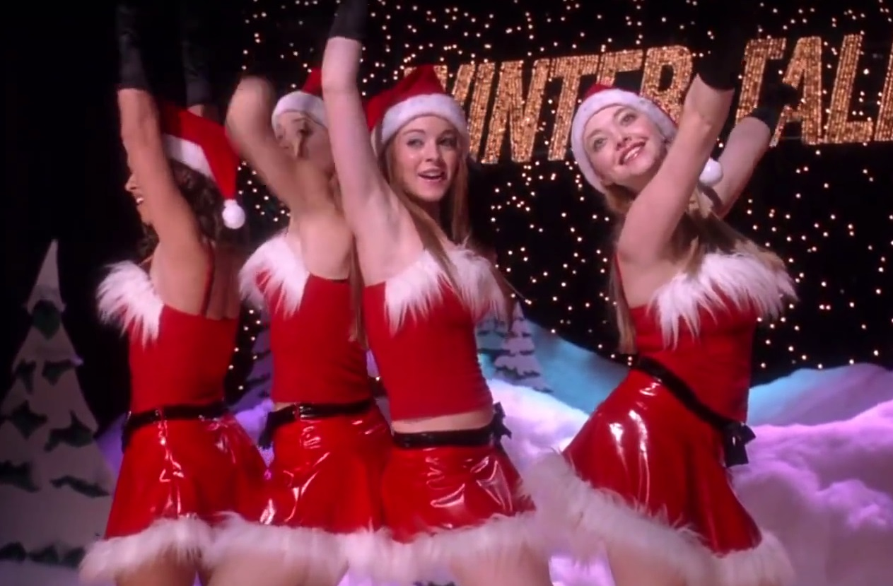 These high school dudes perfectly recreated the 'Mean Girls' 'Jingle Bell Rock' scene