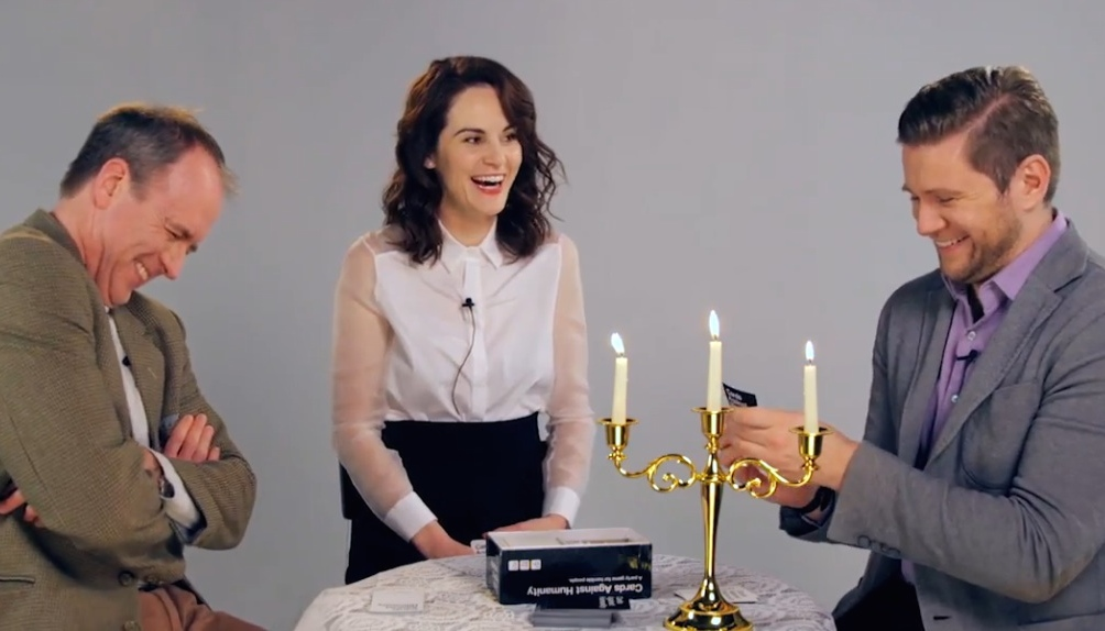 Watch the stars of 'Downton Abbey' play a hilarious game of Cards Against Humanity