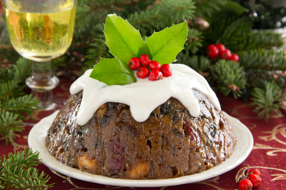 In case you were wondering, here's what 'figgy pudding' actually is
