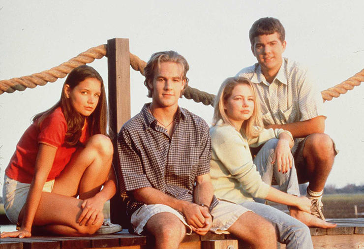 On first love and 'Dawson's Creek'