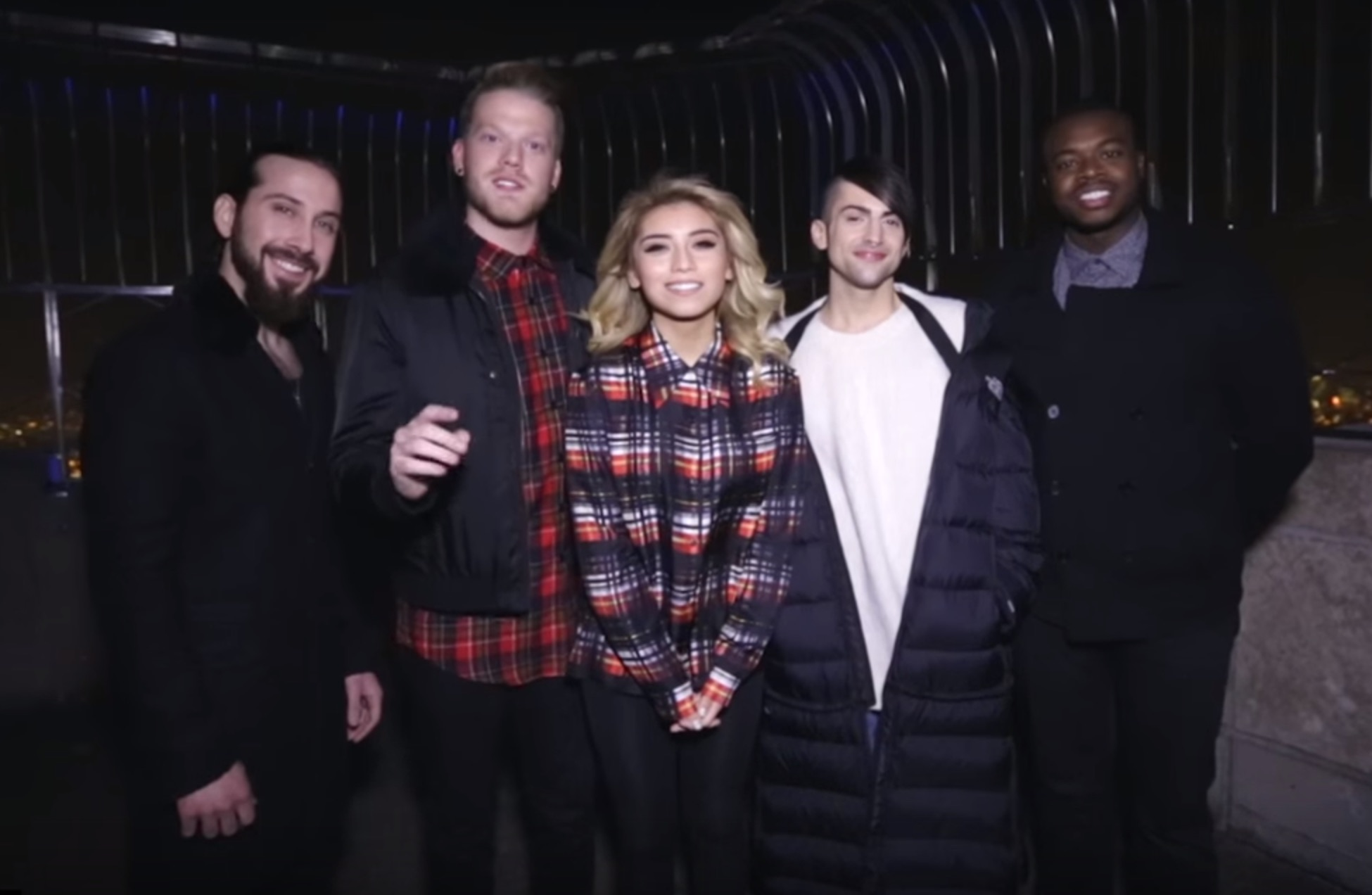 Watch Pentatonix light up New York with their rendition of 'Dance of The Sugarplum Fairy'