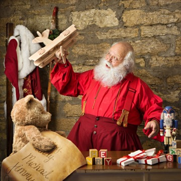 This guy on Etsy is basically Santa Claus in every way