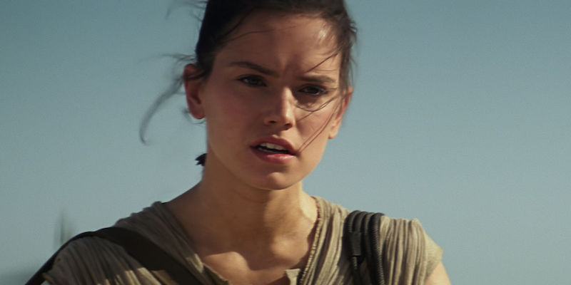 We have a theory about who BOTH of Rey's parents are in 'Star Wars'