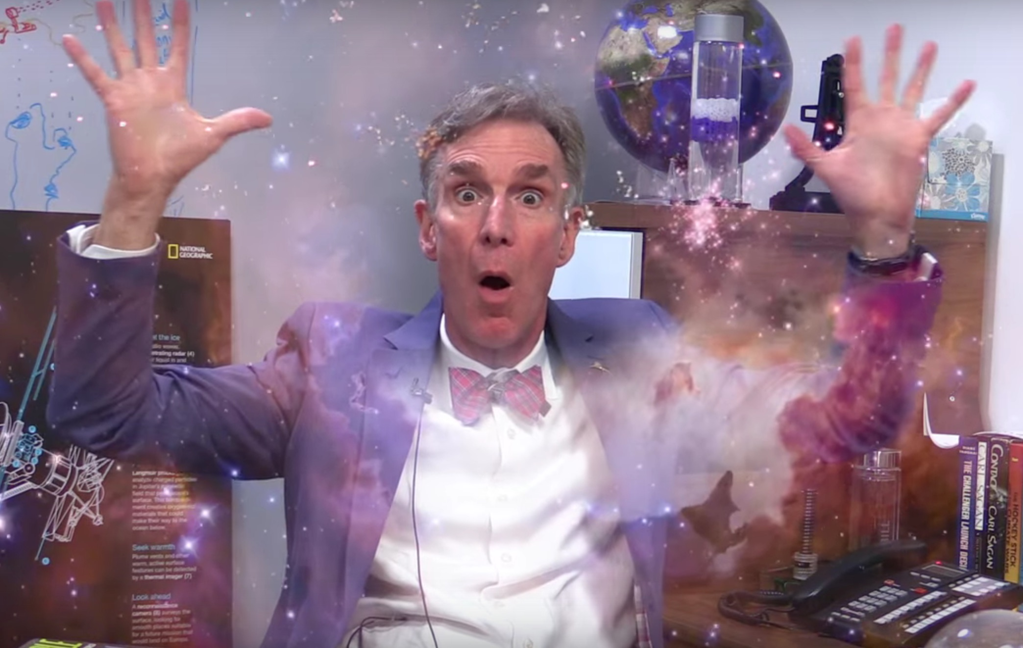Bill Nye just gave us all the GIFs we could ever need