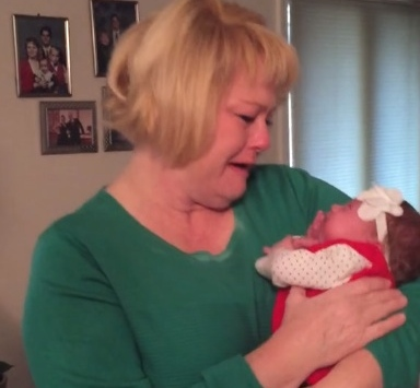 Watch this woman lose her mind in the best way at her son's Christmas surprise