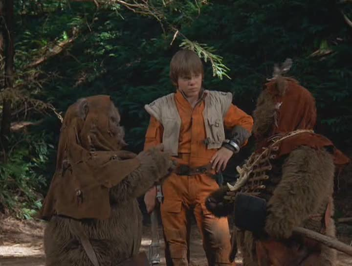 Let's discuss the 'Star Wars' made-for-TV movie about Ewoks