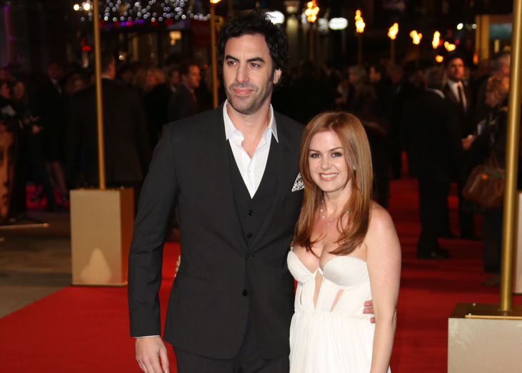 Sacha Baron Cohen and Isla Fisher just made a major donation to Syrian refugees