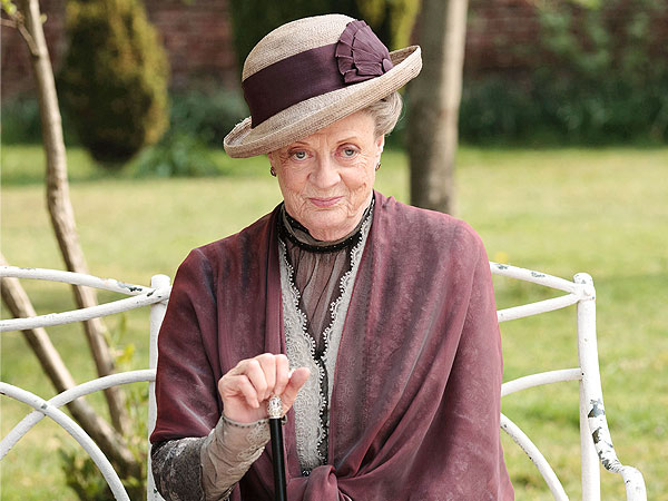 The only person who still hasn't watched 'Downton Abbey' is Maggie Smith