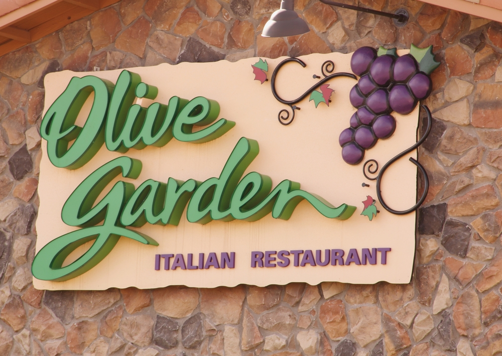 You can celebrate New Year's Eve at Olive Garden this year, but it will cost you