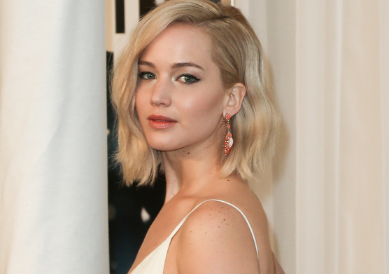Turns out, Jennifer Lawrence is all of us on New Year's Eve