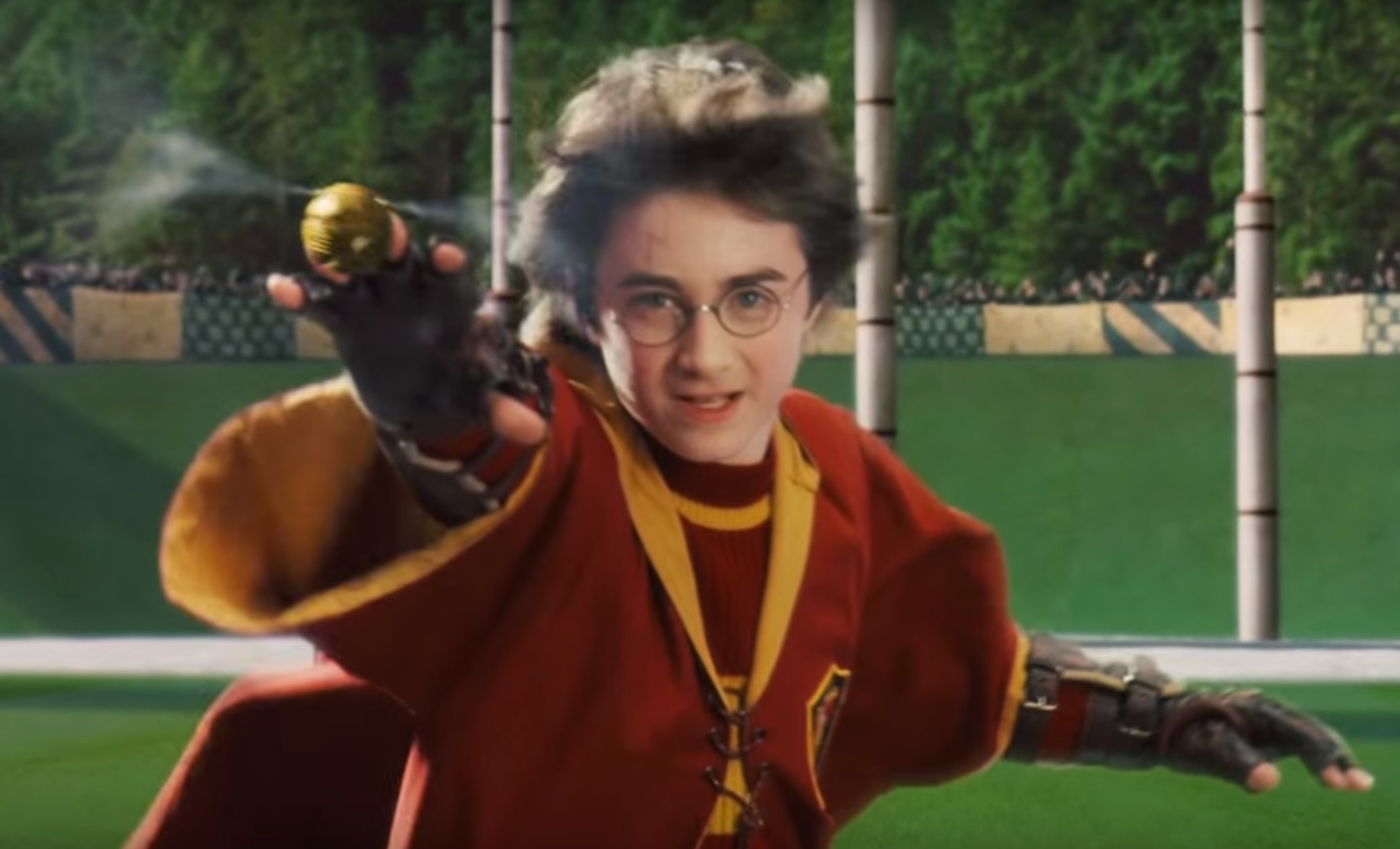 Quidditch Pong is a thing and we're obsessed