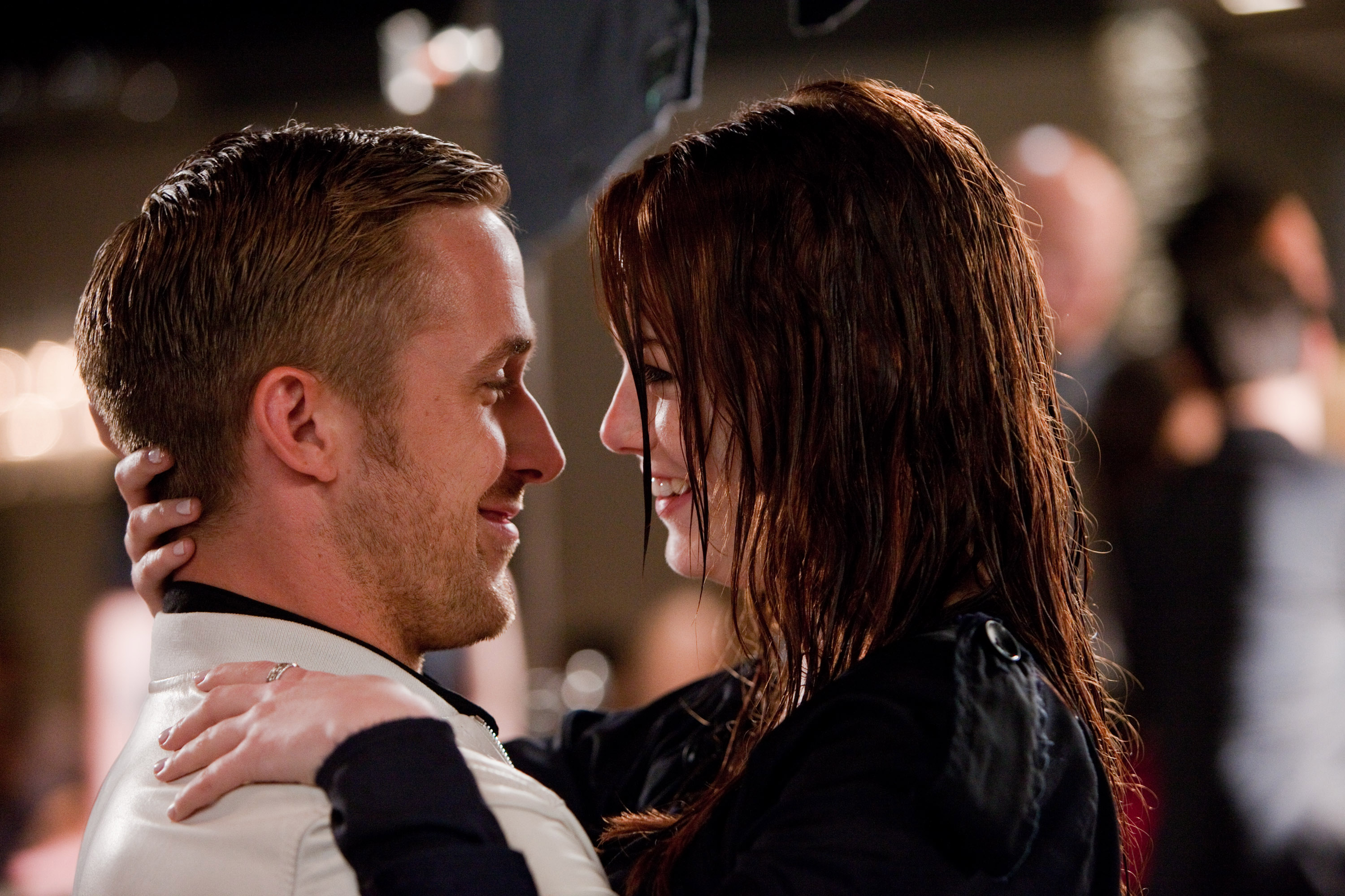 Here's a new pic from Emma Stone and Ryan Gosling's new movie together