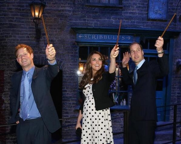 Let's talk about this royal 'Harry Potter' fan theory