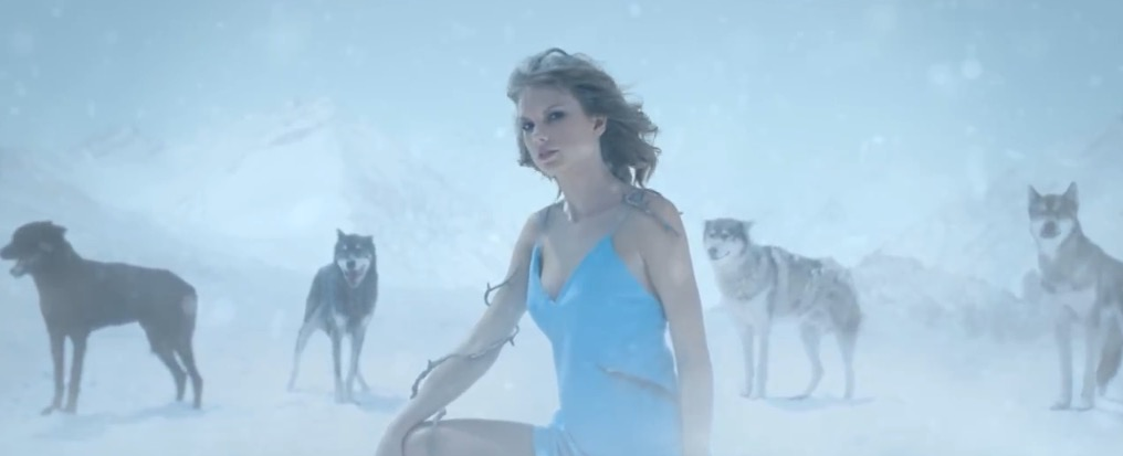 "All of the thoughts we had during Taylor Swift's ""Out of the Woods"" video"