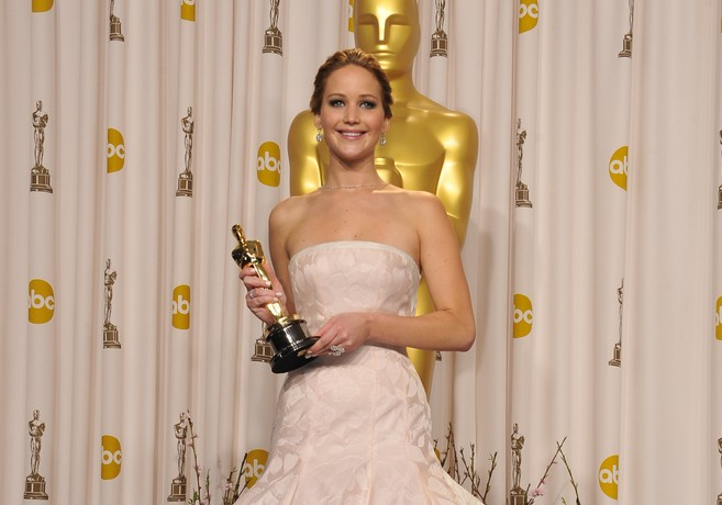 Here's why Jennifer Lawrence totally had a breakdown after winning her Oscar