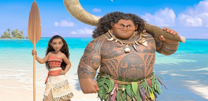 Here's our first look at Disney's latest princess, Moana, in action