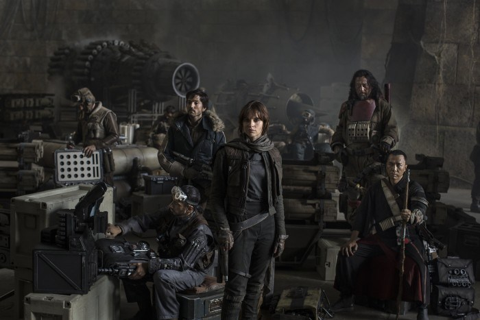 Literally everyone is super psyched for 'Star Wars: Rogue One'