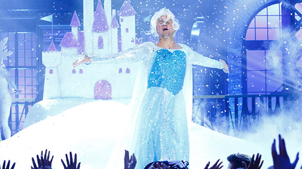 "Here's Channing Tatum lip syncing ""Let it Go,"" because life is amazing"