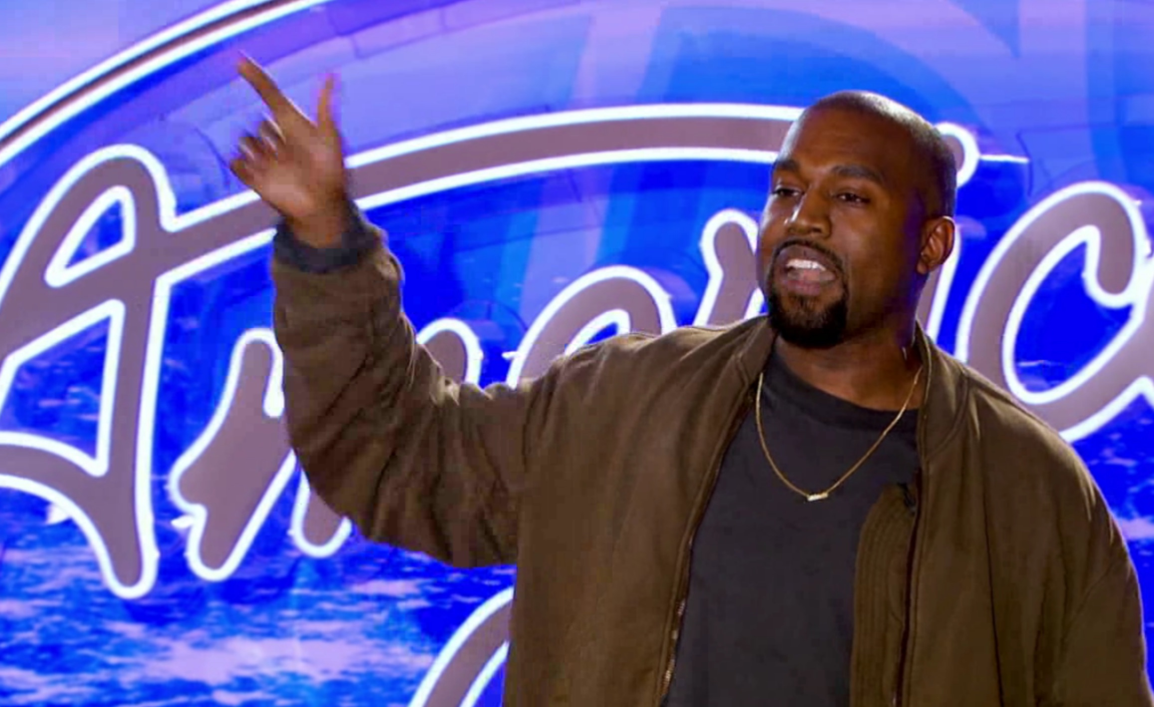 Kanye West's full 'American Idol' audition video was just released and we love it