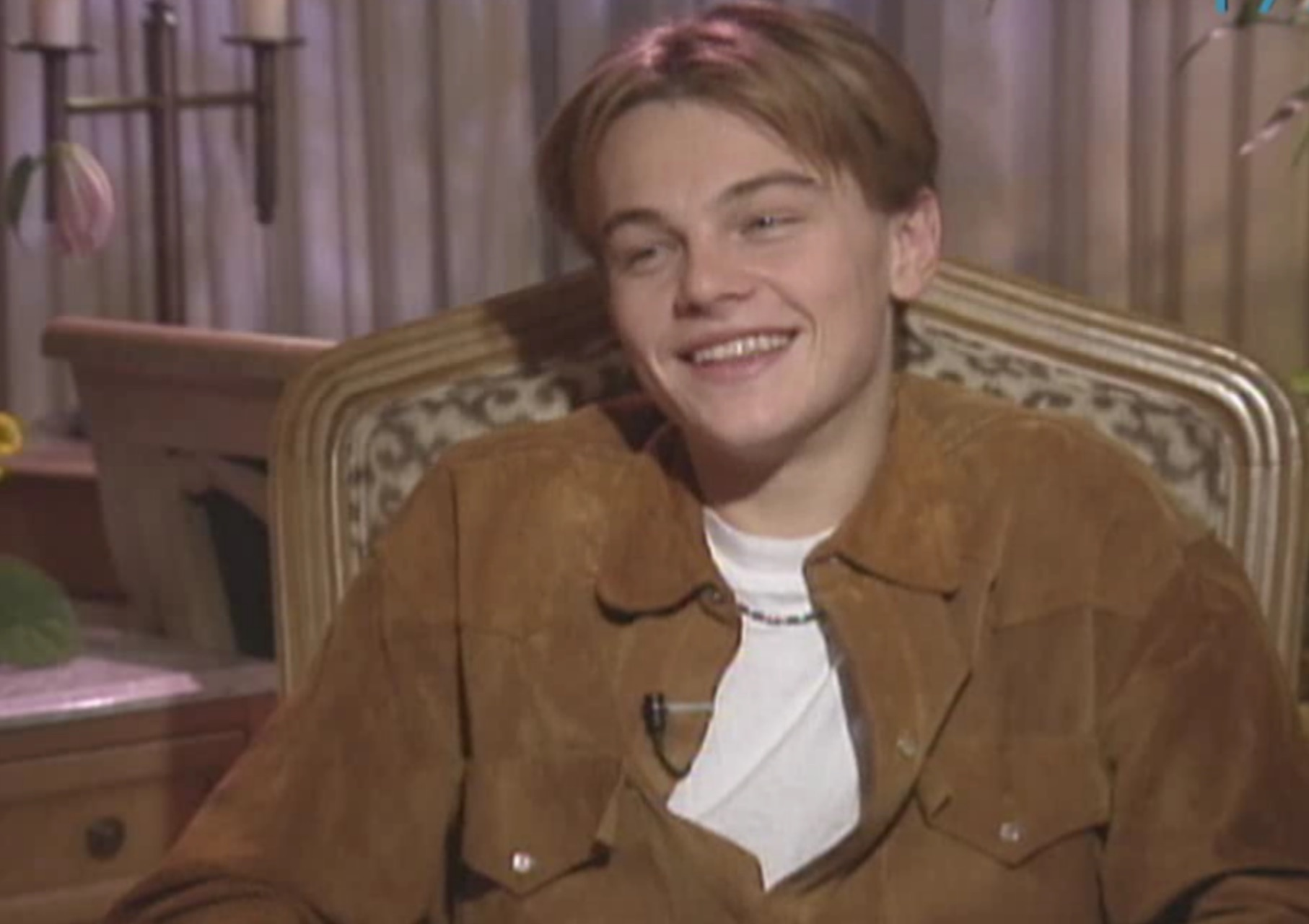 Watch 19-year-old Leonardo DiCaprio talk about being a heartthrob
