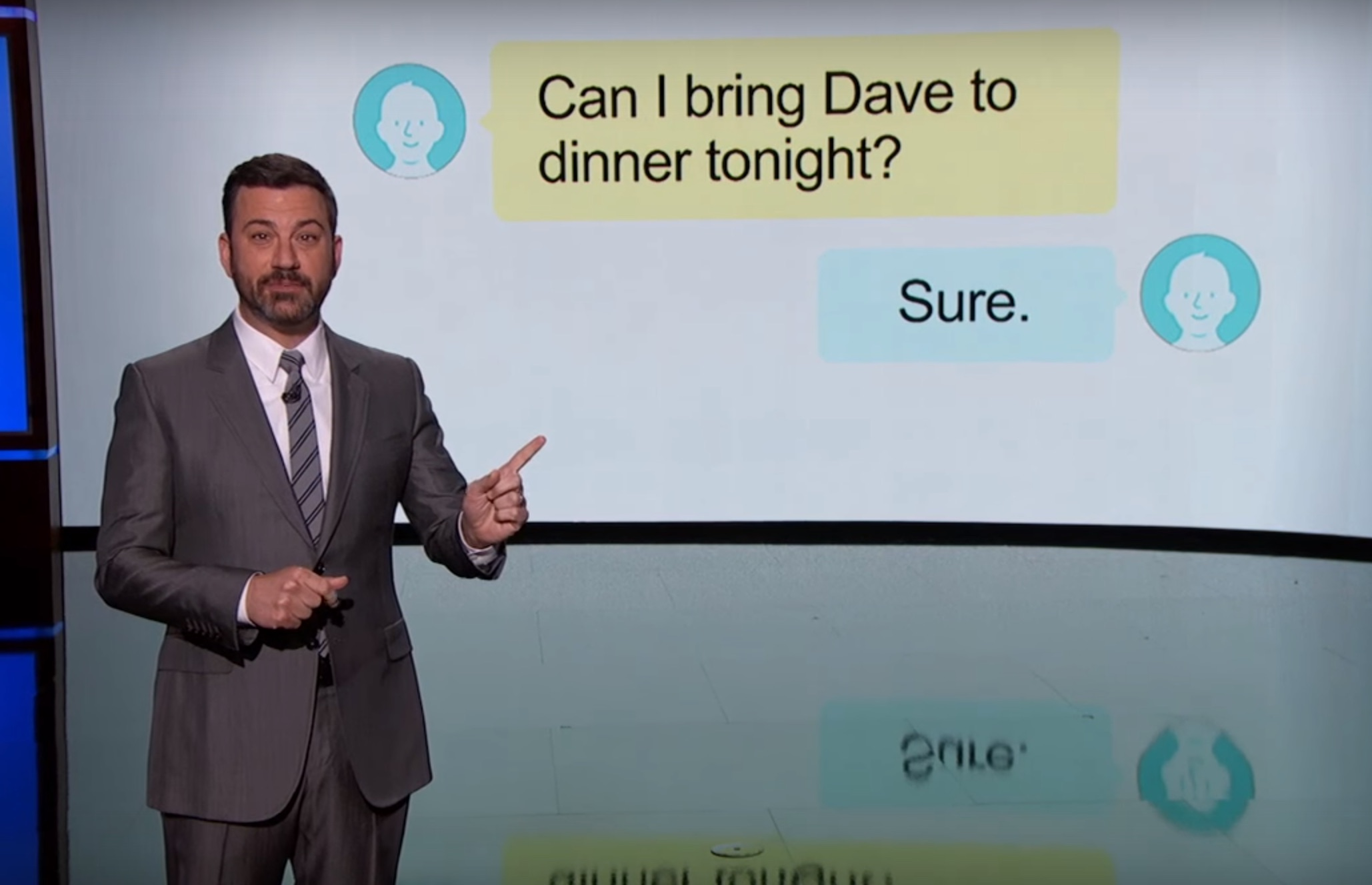 Jimmy Kimmel breaks down those passive aggressive texts we hate