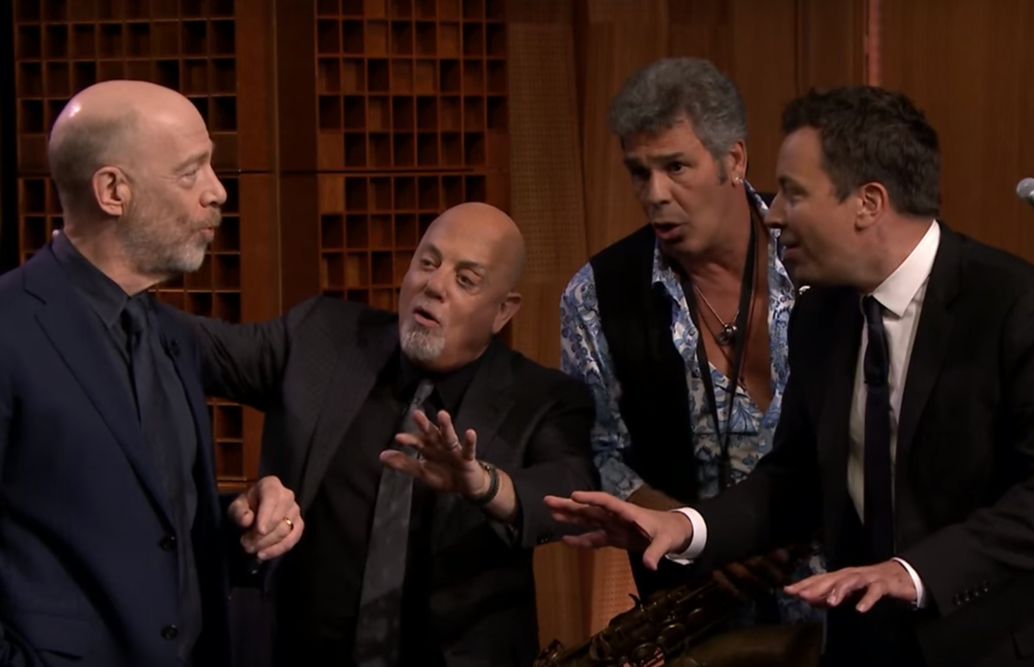 Billy Joel's impromptu doo-wop performance just made our morning