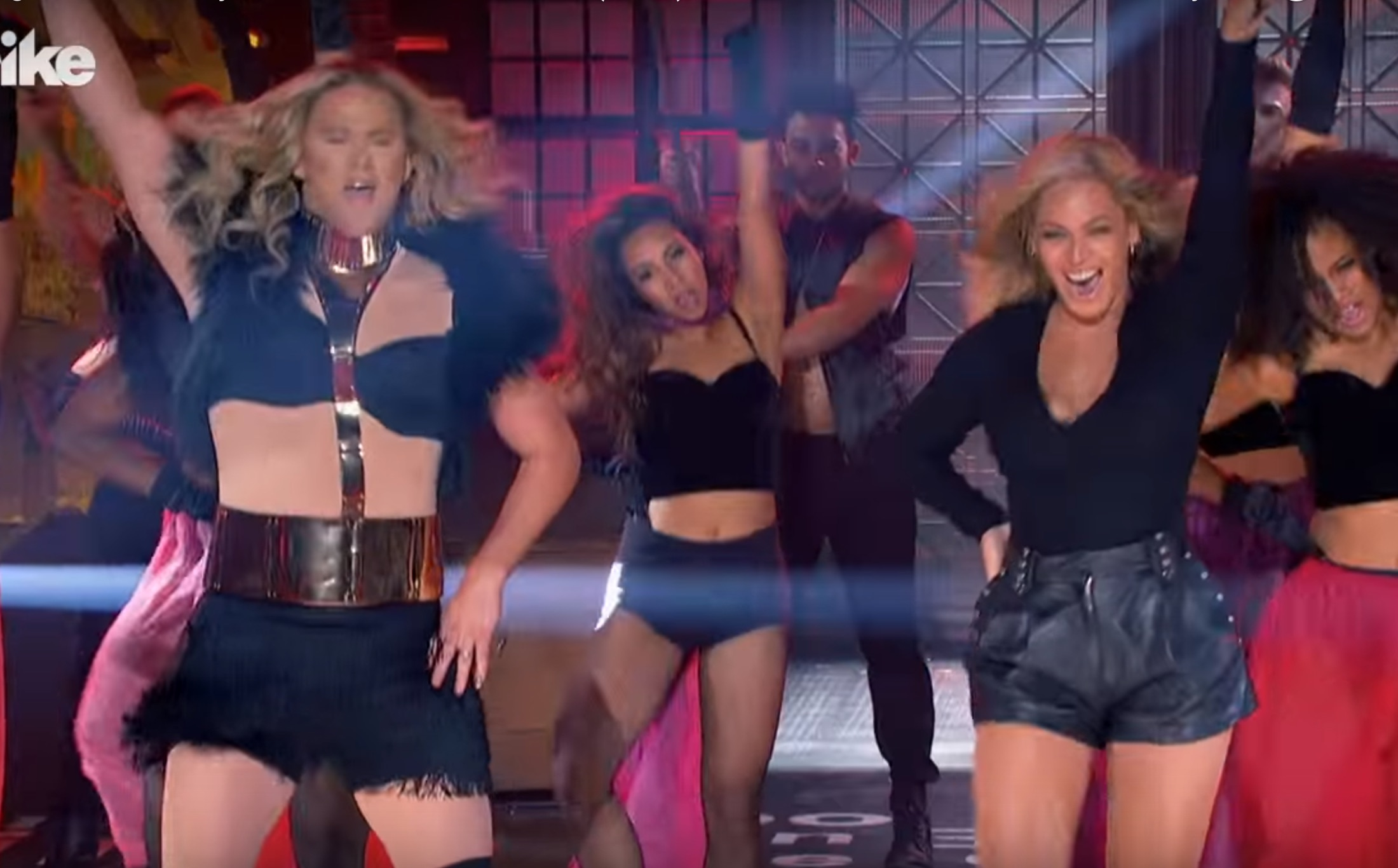 Beyonce joined Channing Tatum on stage for 'Lip Sync Battle' last night and blew our minds