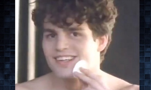 This unearthed Mark Ruffalo Clearasil ad is giving us life