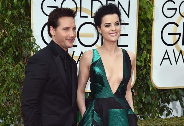 Competing for Cutest Couple at the Golden Globes: Jaimie Alexander and Peter Facinelli