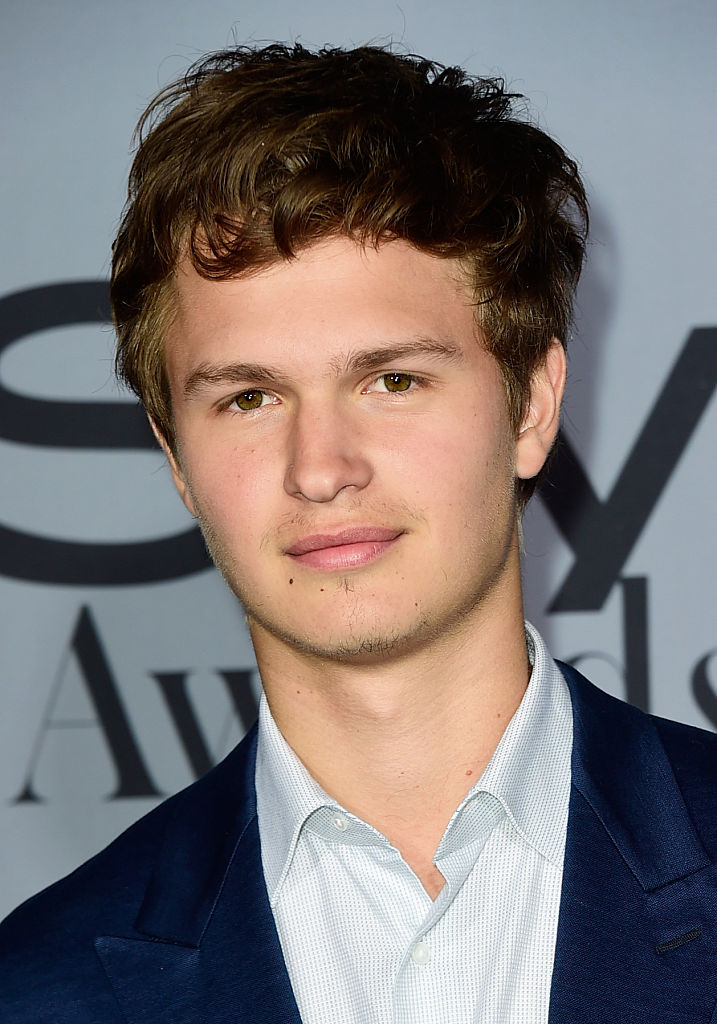 LOS ANGELES, CA - OCTOBER 26:  Actor Ansel Elgort attends the InStyle Awards at Getty Center on October 26, 2015 in Los Angeles, California.  (Photo by Frazer Harrison/Getty Images)