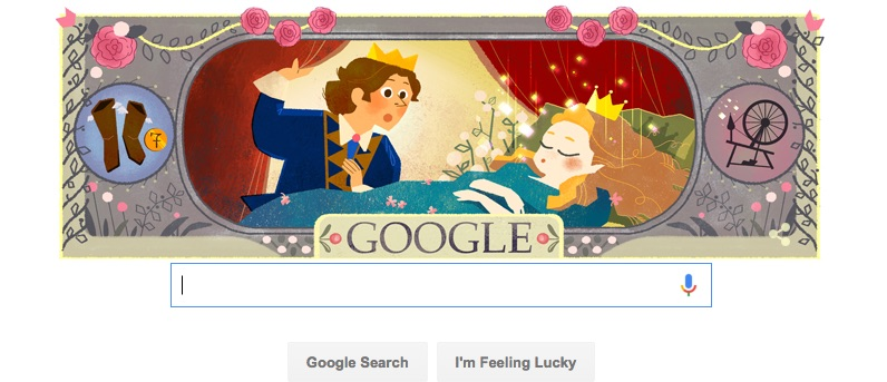 Why today's Google Doodles are featuring all our favorite fairy tales