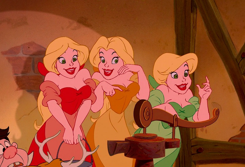 There's a big unanswered question about Gaston's groupies