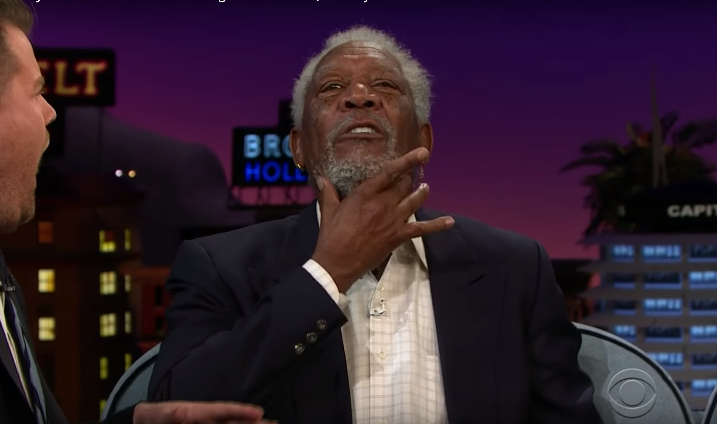 Morgan Freeman teaches us how to have a sexy voice