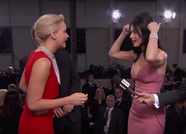 Katy Perry's Golden Globes hair launched a Bumpit revolution