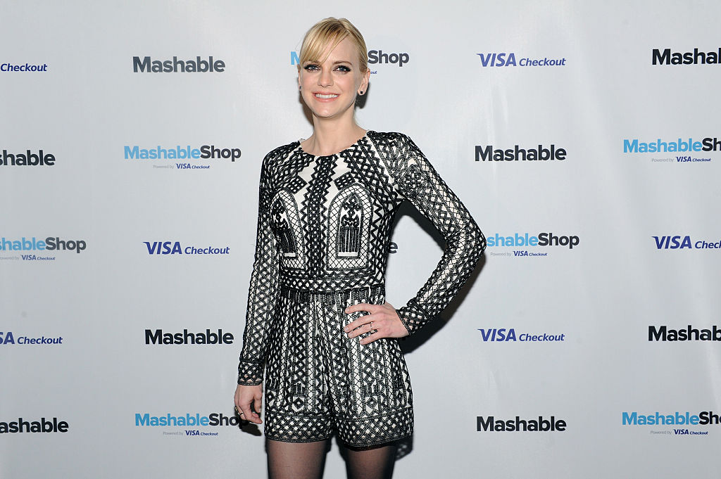 NEW YORK, NY - DECEMBER 15:  Anna Faris attends the launch event for the first-ever Mashable Shop powered by Visa Checkout, the exclusive form of payment, at Up & Down on December 15, 2015 in New York, New York.  (Photo by Craig Barritt/Getty Images for Visa Checkout)