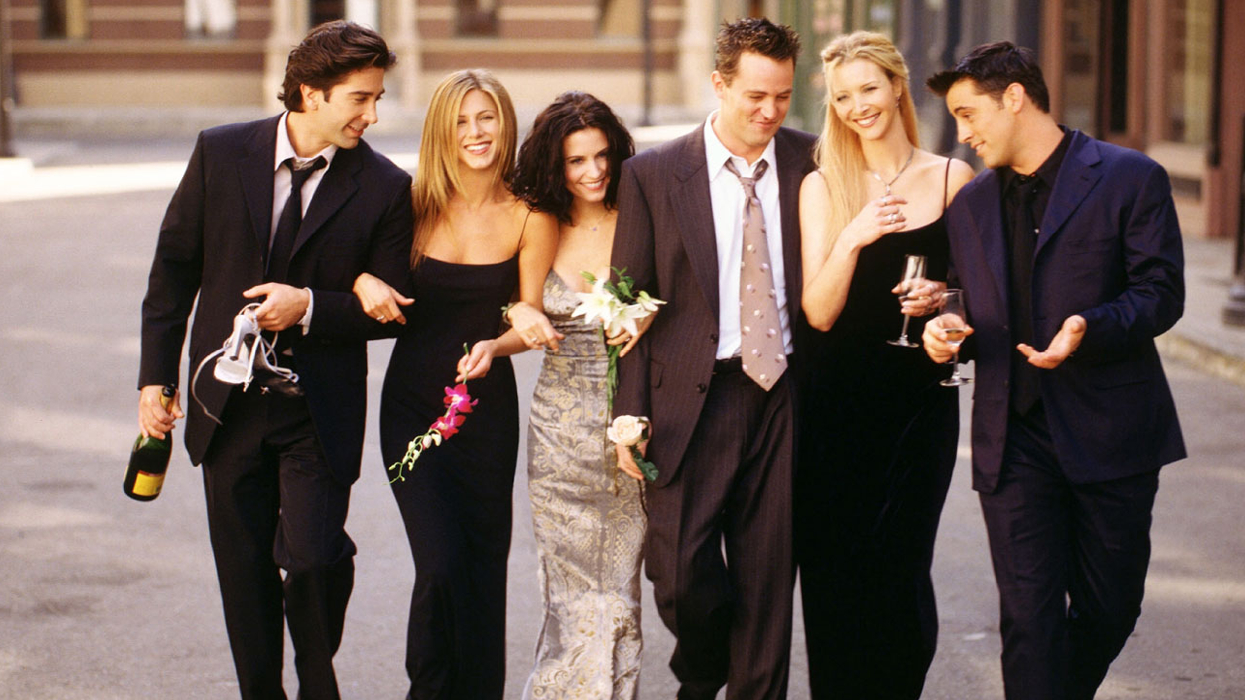This is the TV special that finally got the whole cast of 'Friends' to reunite