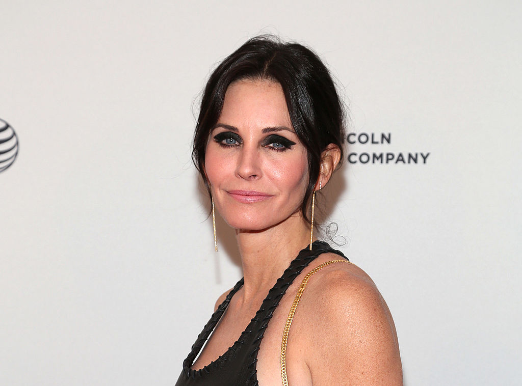 NEW YORK, NY - APRIL 24:  Director/actress Courteney Cox attends the premiere of  Just Before I Go  during the 2014 Tribeca Film Festival at SVA Theater on April 24, 2014 in New York City.  (Photo by Paul Zimmerman/WireImage)