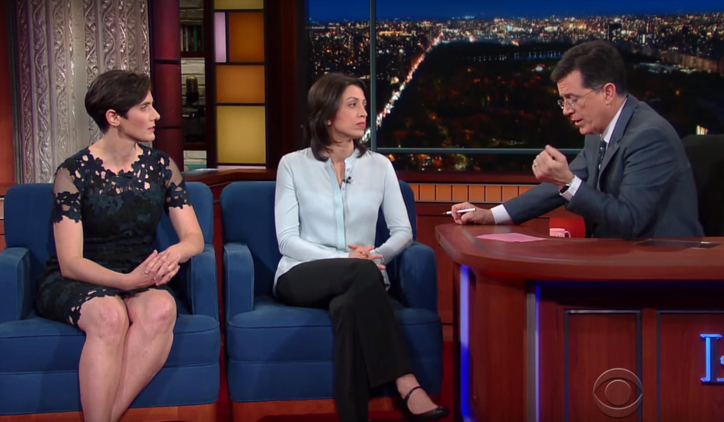 Stephen Colbert spoke to the women behind 'Making A Murderer' and we learned so much