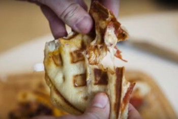 Let's talk about pizza waffles, which are a very real thing