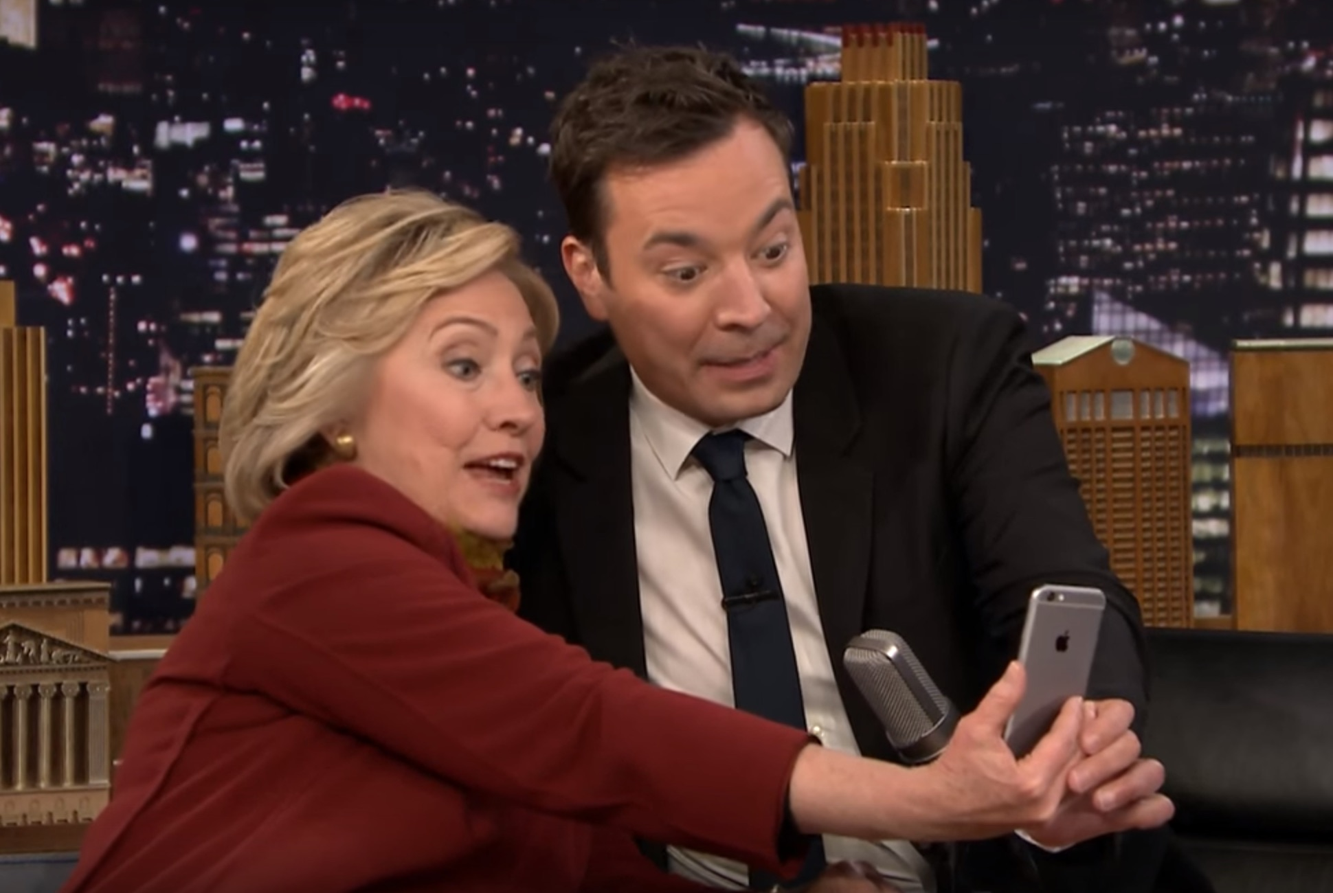 Hillary Clinton let Jimmy Fallon take over her Snapchat