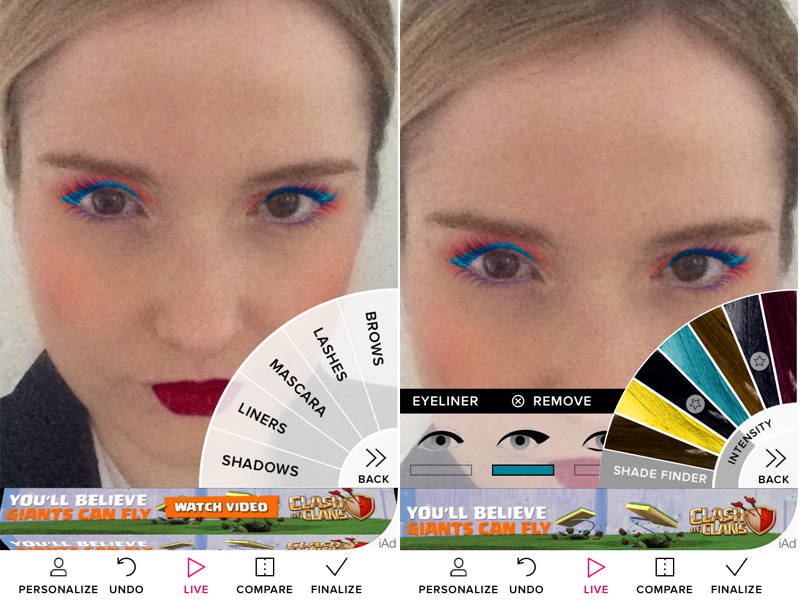 What Happened When I Let My Phone Do My Makeup Hellogiggles