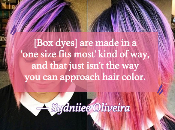 A Lot Of Hair Colorists Are Warning Us About This Box Dye Brand