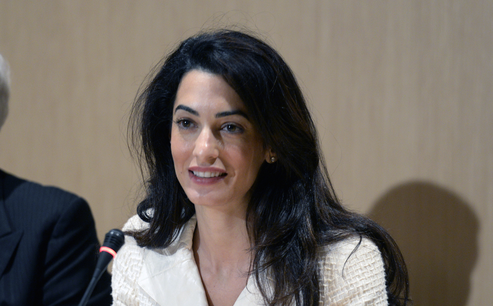Here's what Amal Clooney thinks about fame