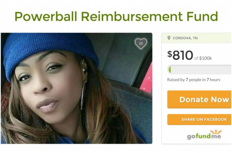 GoFundMe just shut down this Powerball loser's page — but the whole thing was a prank anyway