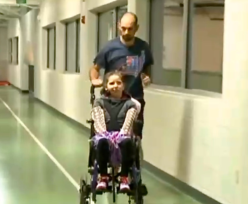 This differently abled girl and her dad just got Disney to change their own rule