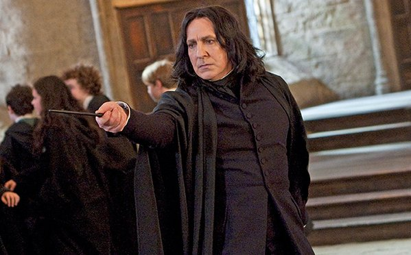 J.K. Rowling shared this key information about Snape with Alan Rickman before anyone else