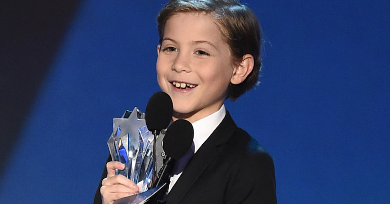 Nine-year old Jacob Tremblay just gave the cutest speech in awards history