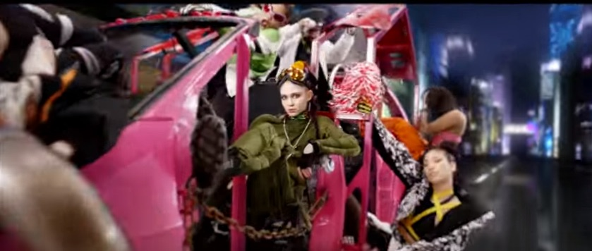 The new Grimes video is delightful, terrifying, and totally bonkers