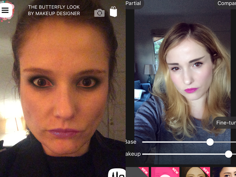 What happened when I let my phone do my makeup